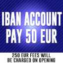 Iban Account pay 50 EUR